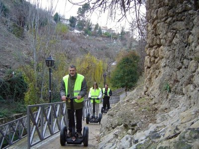 2h segway route and night in Cazorla