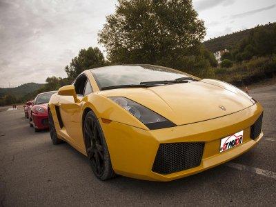 Drive a Lamborghini on a 7km road in Burgos