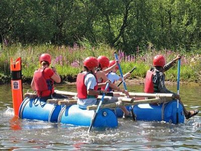 The Glaramara Centre Rafting