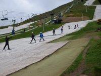 Dry slopes at Bathgate Ski Club