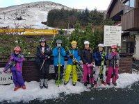 The kiddies of Bathgate Ski Club