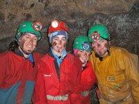 Happy cavers