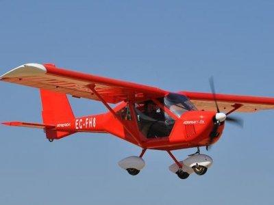 Induction flight microlight