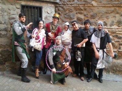 Mystery fun Outdoor game, alchemist, Toledo