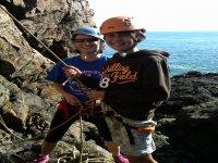 Climbing at the Aberdeen Sea Cliffs