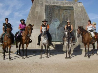 Horse riding route, Pola De Siero area