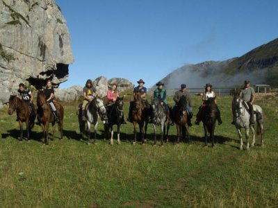 1 day horseriding in Somiedo Natural Park