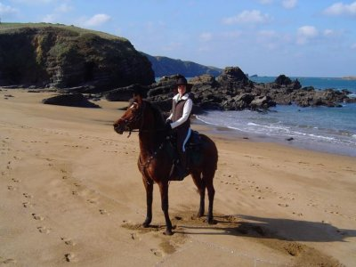 Horse ride to the Xago beach