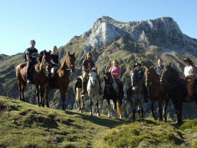 Horse-riding route around Aristébano