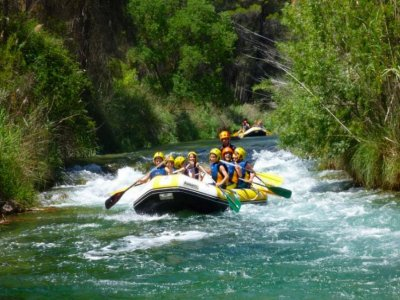 Initiation to rafting Cabriel river 2h