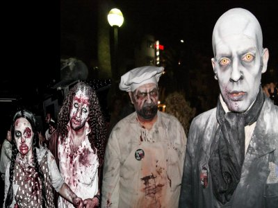 Zombie Survival Experience, themed adventure