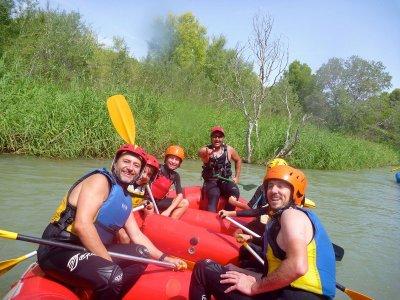2h 30min rafting in Guadazaón River