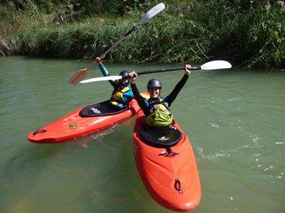 Kayak initiation Cabriel River 2h
