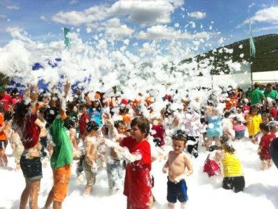 Special school: Activities+foam party
