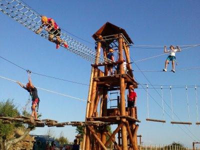 Multiadventure park in San Felices de los Gallegos