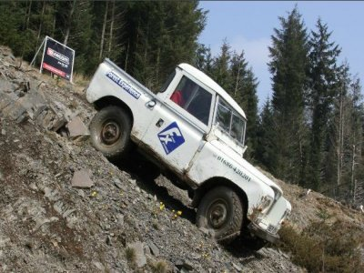 Higgins Rally School Driving 4x4 Routes