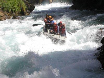 Rafting Down River Gállego for Children