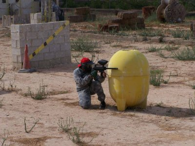 Paintball in San Vicente of Raspeig with 200 balls