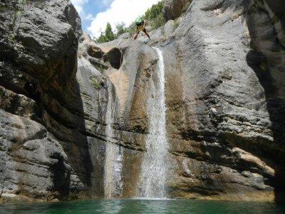 Canyon of la Fou, level 3 in Tarragona