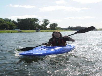National Water Sports Centre Nottinghamshire Kayaking