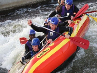 National Water Sports Centre Nottinghamshire Rafting