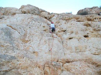 Rock climbing in Alicante, 4 hours
