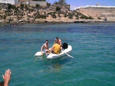 Boat ride from Santa Pola or Alicante, 4h