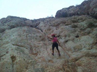 Climbing and rappel course at Alfaz de Pi, one day