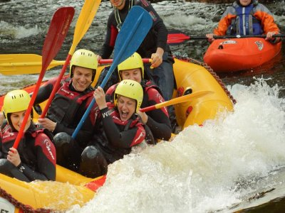 White Water Rafting North Wales Half Day