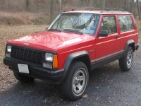 Jeep Cherokee 2 door