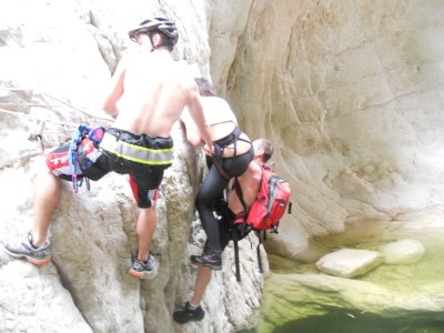 Canyoning Course in Alfaz De Pi, Full Day.