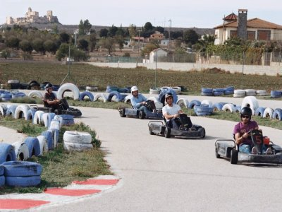 Children's Gokarting two-person 12-min rounds