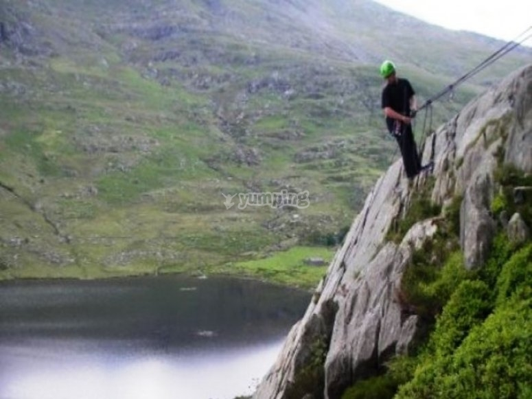 Climbing is a great way to experience the outdoors