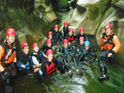 Canyoning / Gorge Walking Session Yorkshire