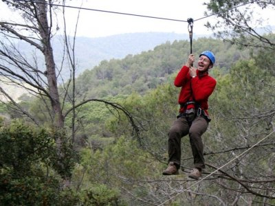 Santa Susanna adventure park, Thrill circuit