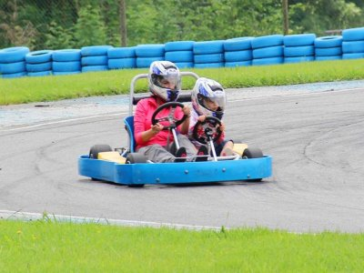 Two-seater Karting in Soto de Dueñas for 10 mins