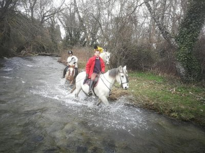 Exclusive horse route in Granja de San Ildefonso