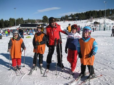 Ski class for groups, Masella, 3 hours