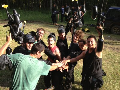 Paintball 200 balls & barbacue in Ribes de Freser