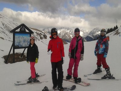 One-to-one snowboard class in Cerler 1 hour