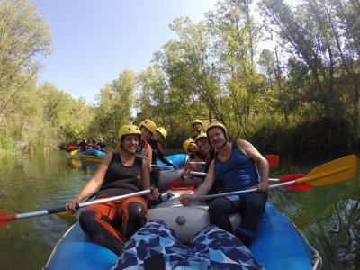 Rafting trip on the Alto Tajo, Puente de San Pedro