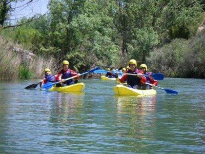 Canoe route, High Tajo, full day and picnic