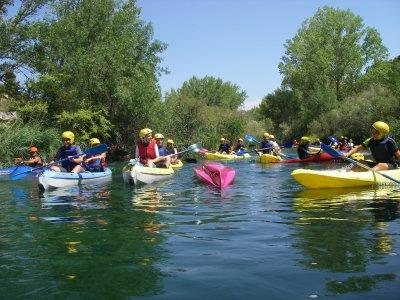 Weekend of canoeing + camping in Buendía