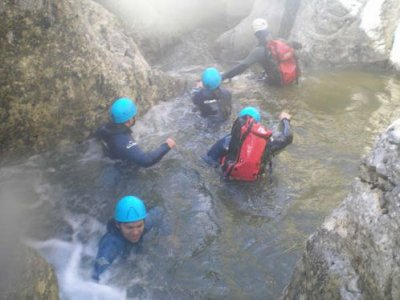 Portilla´s canyon descent, Serrania Cuenca