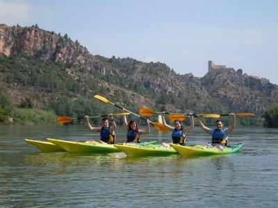 Canoeing, Miravet-Benifallet, adults.