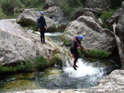 Canyoning in Vertiente Quebrada, Poyatos