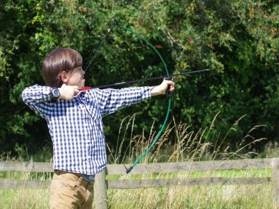 Archery, hiking and zip line,kids pack
