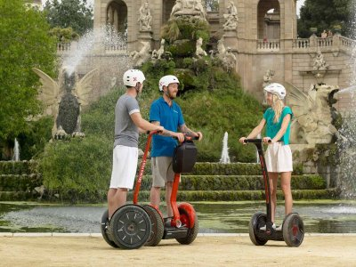 2h Tourist Segway tour of Barcelona