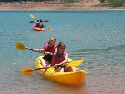 2-Hour Canoe Route in Berrea del Ciervo
