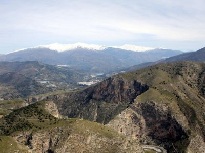 50 min helicopter tour over south Granada